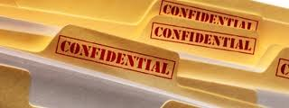 confidential files photo