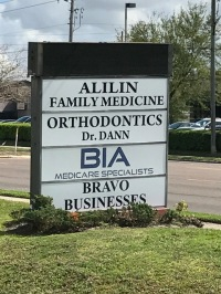 Street Sign Bravo Counseling is located within Bravo Businesses